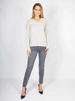 Кашемировый свитер с V – образным вырезом от ESISTO _ E181202
