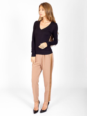 Трикотажный пуловер от LA HAINE _ L018334