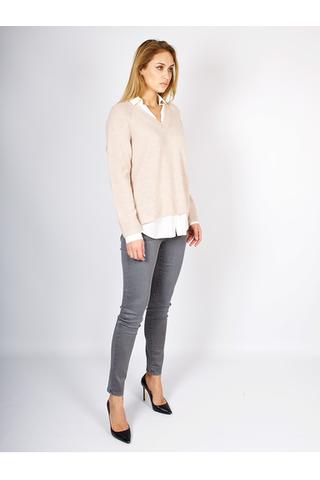 Многослойный кашемировый свитер от REPEAT _ R100199