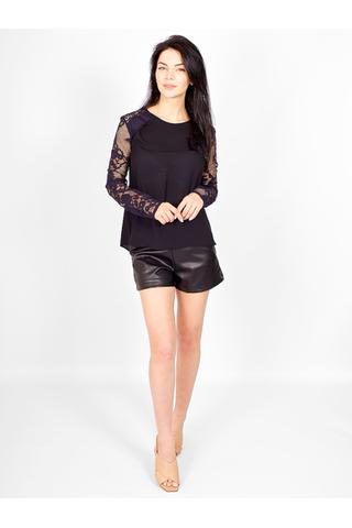 Блуза с гипюровыми рукавами от IMPERIAL _ I023458