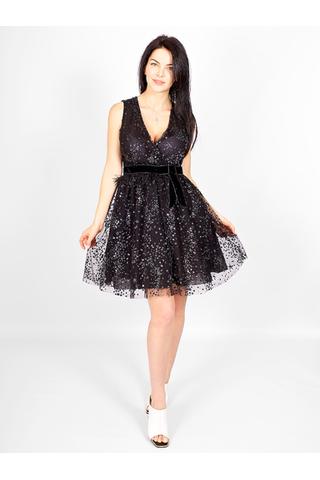 Платье мини с поедками от IMPERIAL _ I002010