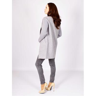 Шерстяное пальто с карманами от REPEAT
